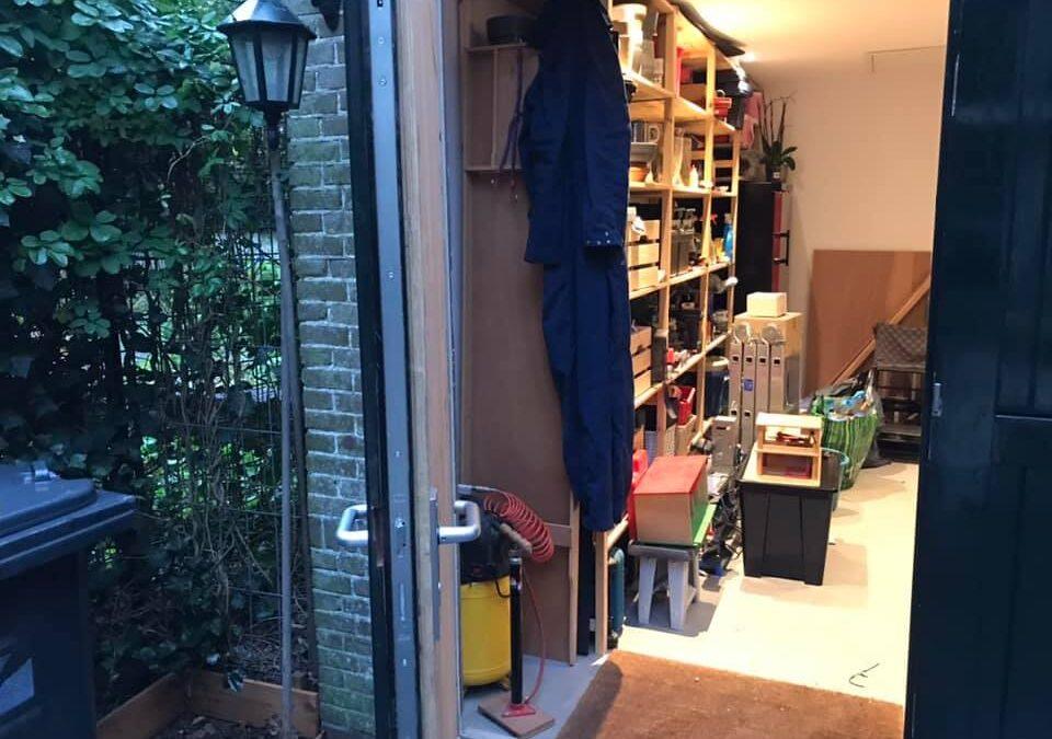 Meerpuntssluiting openslaande deuren garage Zeist