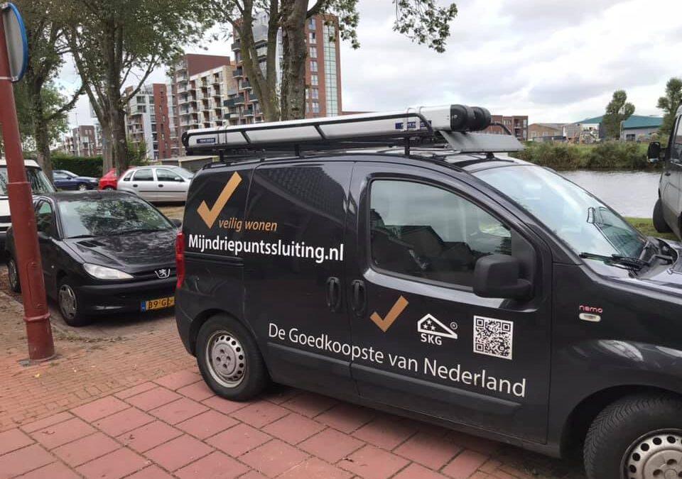 Meerpuntssluiting plaatsen in centrum Utrecht