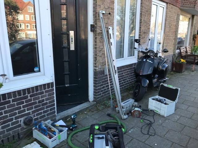 Amsterdam voordeur beveiligd meerpuntssluiting